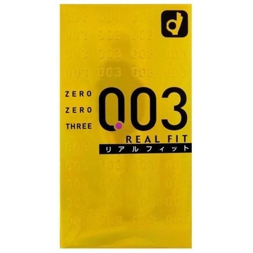 コンドーム オカモト 003 ゼロゼロスリー リアルフィット 10個入 ×144点セット 【まとめ買い特価!】