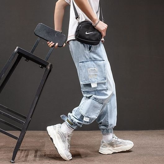 メンズ デニム カーゴパンツ ジョガーパンツ ジーンズ ストリートファッション アットマーベラス atmarveous atmarvelous 05