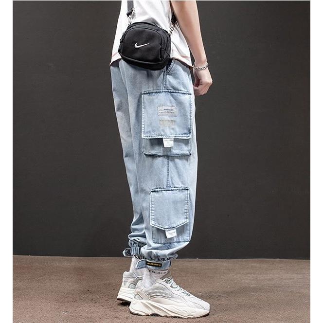 メンズ デニム カーゴパンツ ジョガーパンツ ジーンズ ストリートファッション アットマーベラス atmarveous atmarvelous 06