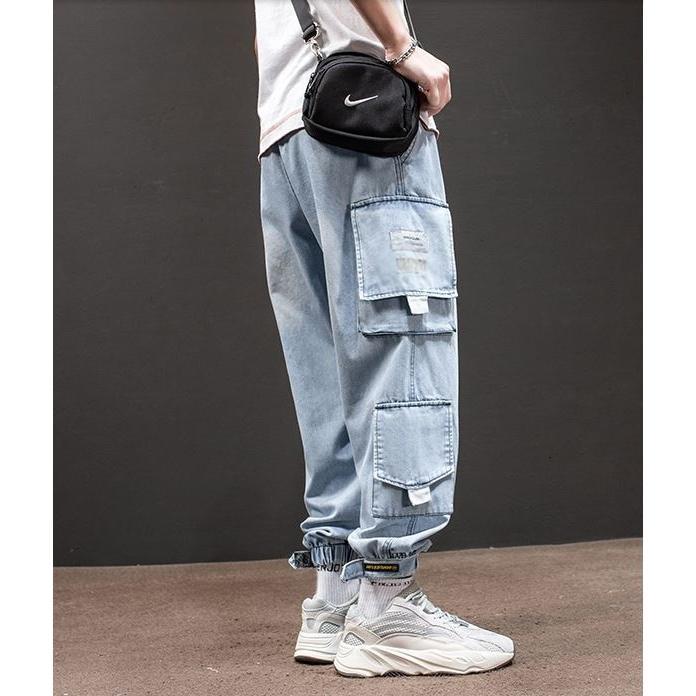 メンズ デニム カーゴパンツ ジョガーパンツ ジーンズ ストリートファッション アットマーベラス atmarveous atmarvelous 08