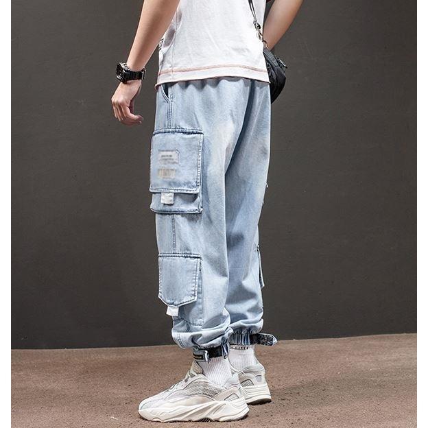 メンズ デニム カーゴパンツ ジョガーパンツ ジーンズ ストリートファッション アットマーベラス atmarveous atmarvelous 10