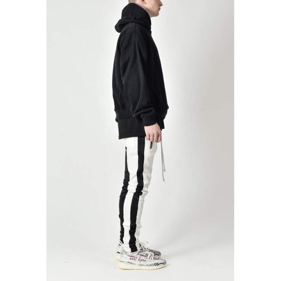 ジップ使い アシメカラー ラインパンツ メンズ ストリートファッション おしゃれ ジャージ|atmarvelous|17