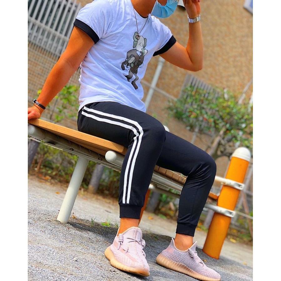 ジョガーパンツ スウェットパンツ メンズ  レディース ユニセックス ラインパンツ おうち時間|atmarvelous|13