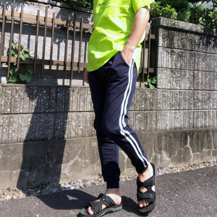ジョガーパンツ スウェットパンツ メンズ  レディース ユニセックス ラインパンツ おうち時間|atmarvelous|14