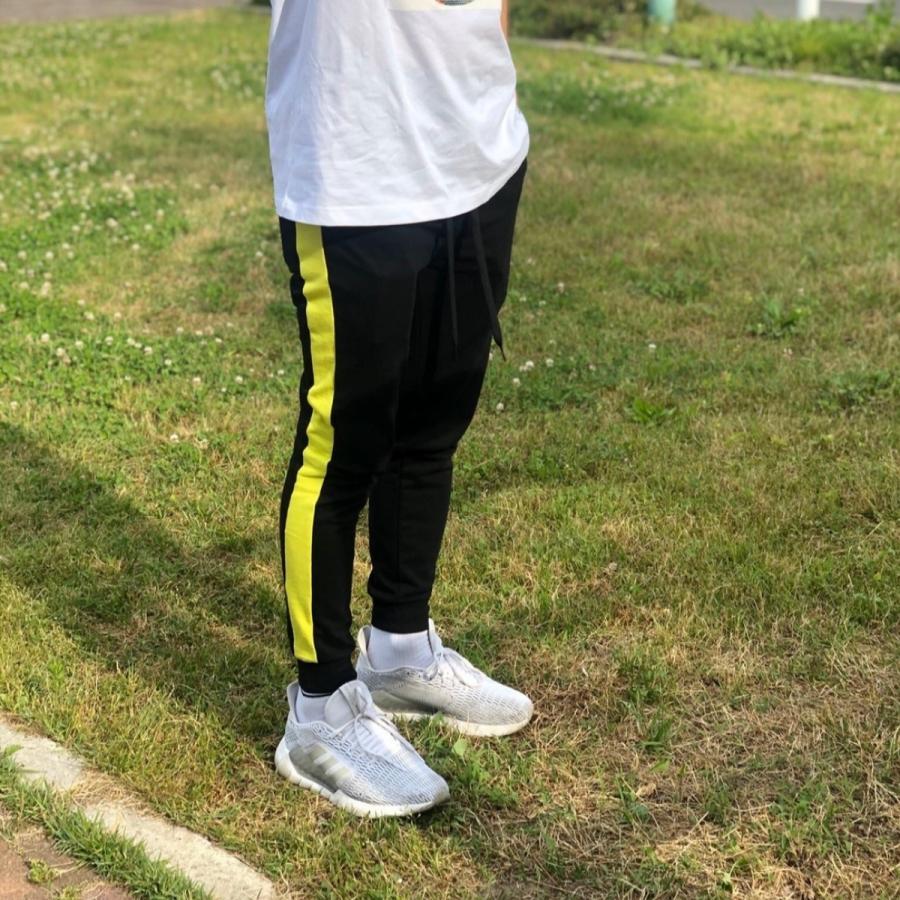 ジョガーパンツ スウェットパンツ メンズ  レディース ユニセックス ラインパンツ おうち時間|atmarvelous|17