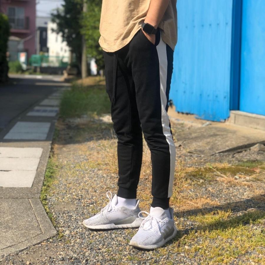 ジョガーパンツ スウェットパンツ メンズ  レディース ユニセックス ラインパンツ おうち時間|atmarvelous|08