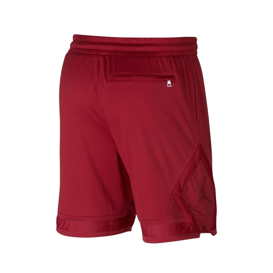 Mens Jordan Sportswear Diamond Mesh Shorts 939608-687 Red NEW Size L