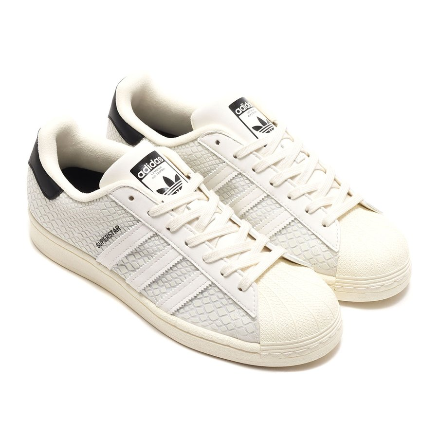 """アディダス adidas スニーカー スーパースター アトモス """"G-SNK"""" (OFF WHITE/OFF WHITE/CORE BLACK) 20SS-S at20-c atmos-tokyo"""