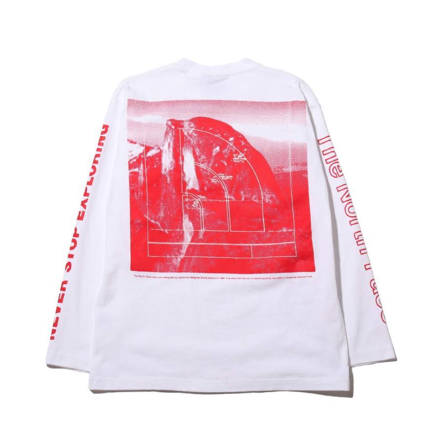 ザ・ノース・フェイス THE NORTH FACE 長袖Tシャツ ロングスリーブ スリーブグラフィック ティー (WHITE) 21SS-I|atmos-tokyo|02