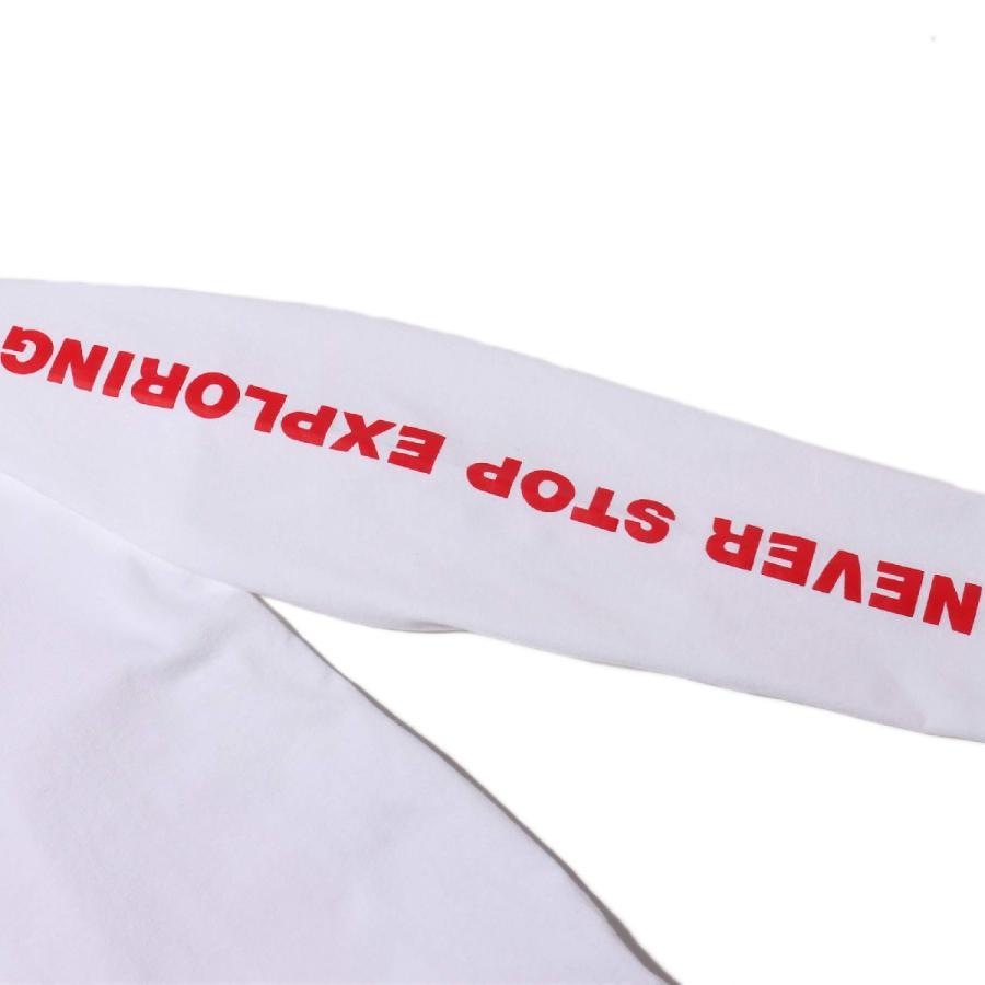 ザ・ノース・フェイス THE NORTH FACE 長袖Tシャツ ロングスリーブ スリーブグラフィック ティー (WHITE) 21SS-I|atmos-tokyo|08
