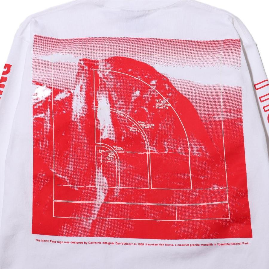 ザ・ノース・フェイス THE NORTH FACE 長袖Tシャツ ロングスリーブ スリーブグラフィック ティー (WHITE) 21SS-I|atmos-tokyo|09