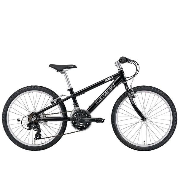 【店頭受取限定】 ルイガノ キッズ 22インチ J22 LOUIS GARNEAU J22 LG 黒 キッズ 子供 自転車