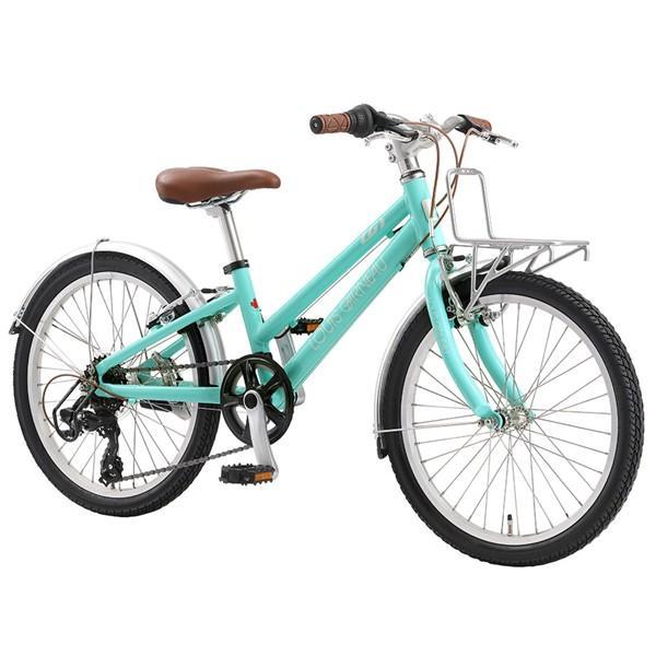 【店頭受取限定】 ルイガノ キッズ 20インチ J20 Plus LOUIS GARNEAU J20 Plus AQUAMARINE キッズ 子供 自転車