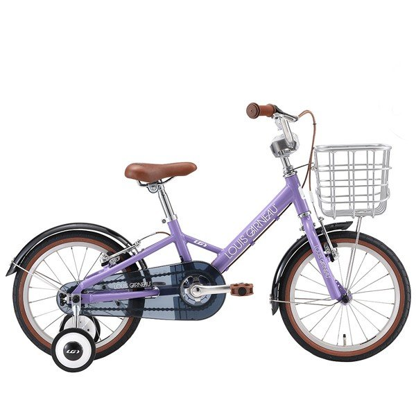 【店頭受取限定】ルイガノ 16インチ K16 Plus LOUIS GARNEAU K16 プラス LAVENDER キッズ 子供 自転車