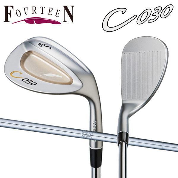 「受注生産」 フォーティーン ゴルフ C030 ウェッジ NSプロ 950GH HTスチールシャフト FOURTEEN C 030