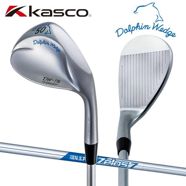 「受注生産」 キャスコ ゴルフ DW-116 ドルフィン ウェッジ NSプロ ゼロス7 スチールシャフト Kasco