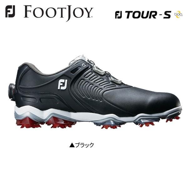 フットジョイ ゴルフ FJ ツアー TOUR S ボア BOA 55311 ゴルフシューズ ブラック FOOTJOY