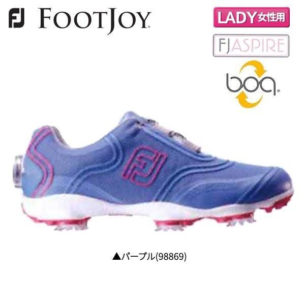 「レディース」 フットジョイ FJ アスパイア 98869 ボア ゴルフシューズ FOOTJOY Aspire Boa