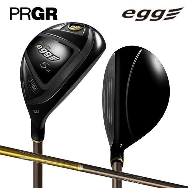 「高反発モデル/送料無料/6Uのみ」 プロギア ゴルフ スーパーエッグ 金エッグ ユーティリティー オリジナル カーボンシャフト PRGR SUPER EGG