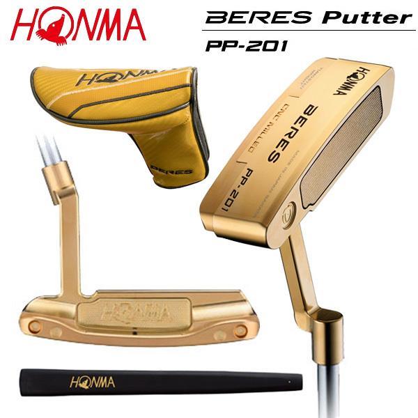 ホンマ ゴルフ ベレス PP-201 金メッキ仕上げ パター HONMA BERES PP201