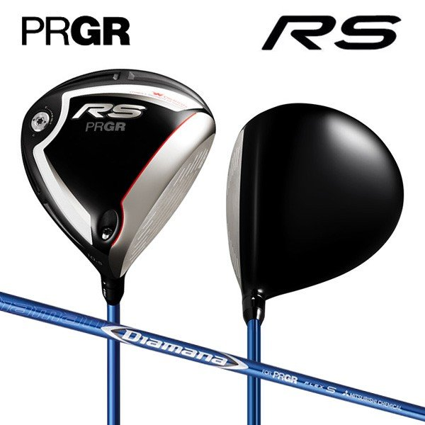 プロギア ゴルフ 新RS ドライバー ディアマナ for PRGR カーボンシャフト PRGR RS18