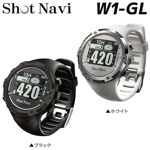 ショットナビ ゴルフ W1-GL 腕時計型 GPSナビ