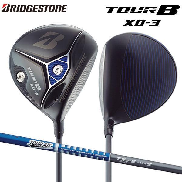 ブリヂストン ゴルフ ツアーB XD-3 ドライバー ツアーAD TX2-6 カーボンシャフト