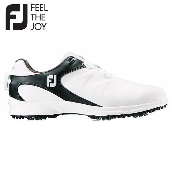 フットジョイ ゴルフ ARC XT BOA ボア 59755 ゴルフシューズ ホワイト×ブラック FOOTJOY