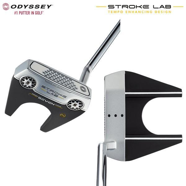 オデッセイ ゴルフ ストロークラボ セブンS パター スチール・カーボン複合シャフト ODYSSEY STROKE LAB SEVEN S