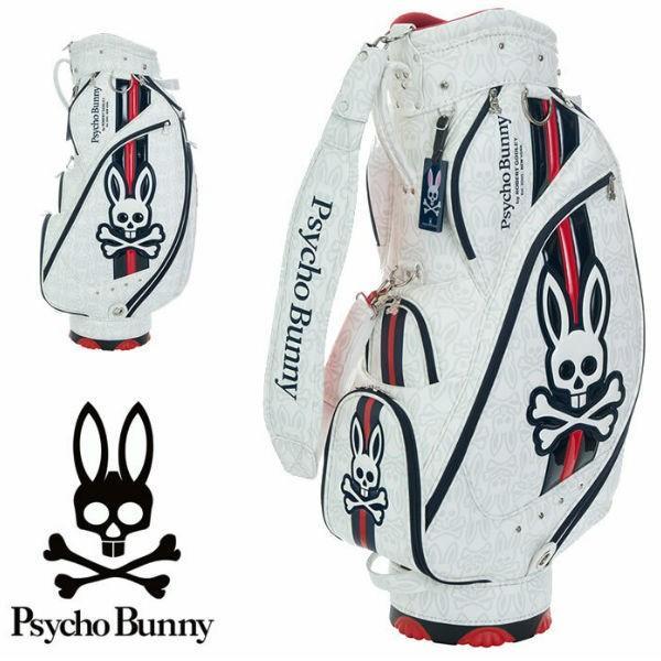 サイコバニー ゴルフ ニューバニー PBMG9SC1 カート キャディバッグ PsychoBunny ゴルフバッグ