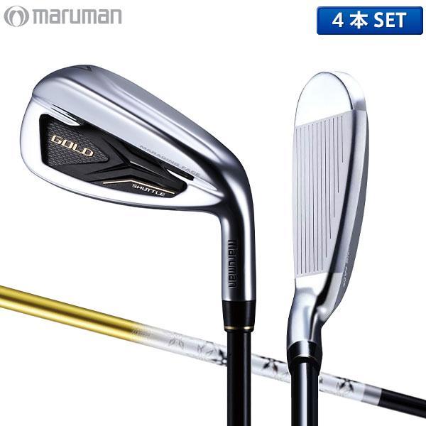 マルマン ゴルフ シャトル ゴールド アイアンセット 4本組 (7-P) FUBUKI SG200 カーボンシャフト maruman SHUTTLE ゴールド