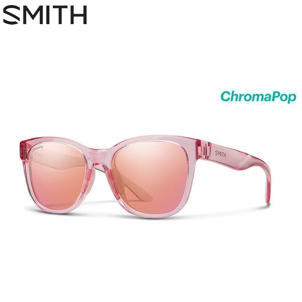 スミス ケイパー 020446173 Caper サングラス クロマポップ ピンク Crystal CP-Contrast Rose Flash