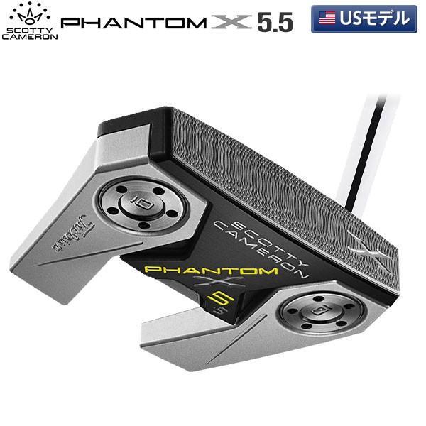 「USモデル」 スコッティキャメロン ファントムX 5.5 PHANTOM X パター SCOTTY CAMERON