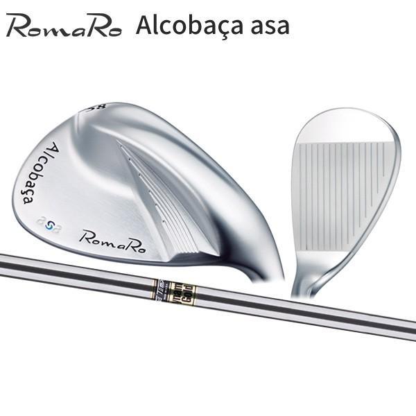 ロマロ ゴルフ アルコバッサ asa ウェッジ ダイナミックゴールド スチールシャフト Romaro Alcobaca