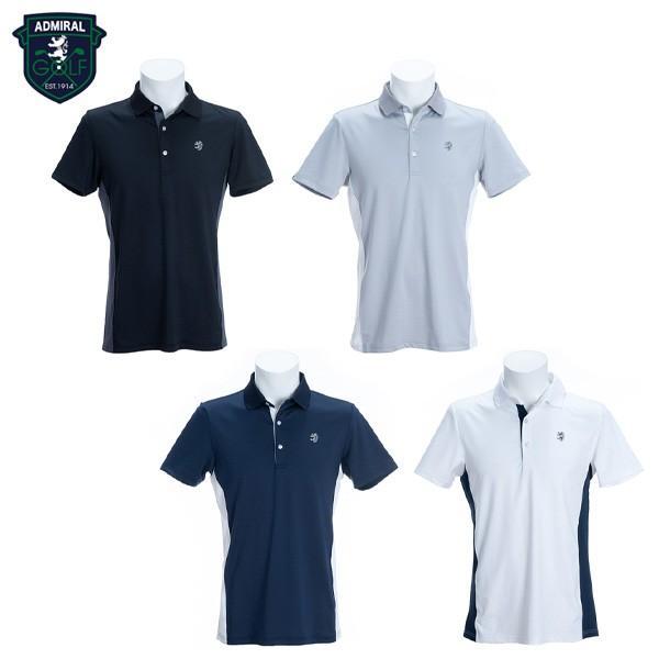 「送料無料」 アドミラル ゴルフ ADMA966 半袖ポロシャツ ゴルフウェア ADMIRAL