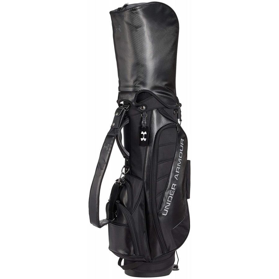 アンダーアーマー(UNDER ARMOUR) ゴルフ キャディバッグ スタンドタイプ AGF3792-BLK