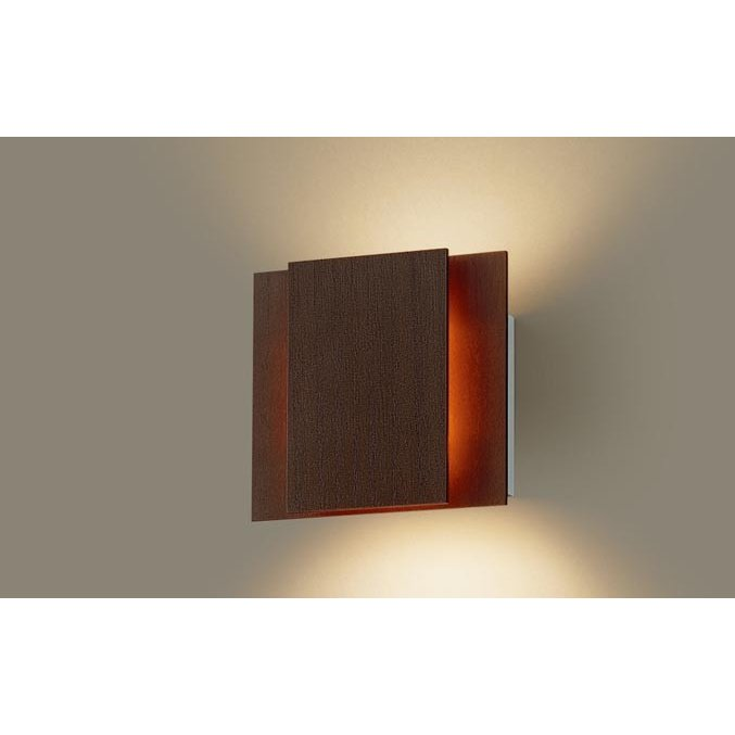 壁直付型 電球色LED 電球色LED ブラケット 上下面カバー付(非密閉) 拡散タイプ 調光可 パナソニック
