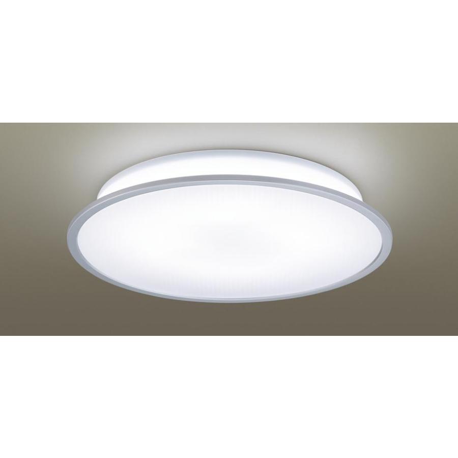 天井直付型 昼光色電球色LED シーリングライト リモコン調光 リモコン調色 丸型 〜8畳 パナソニック