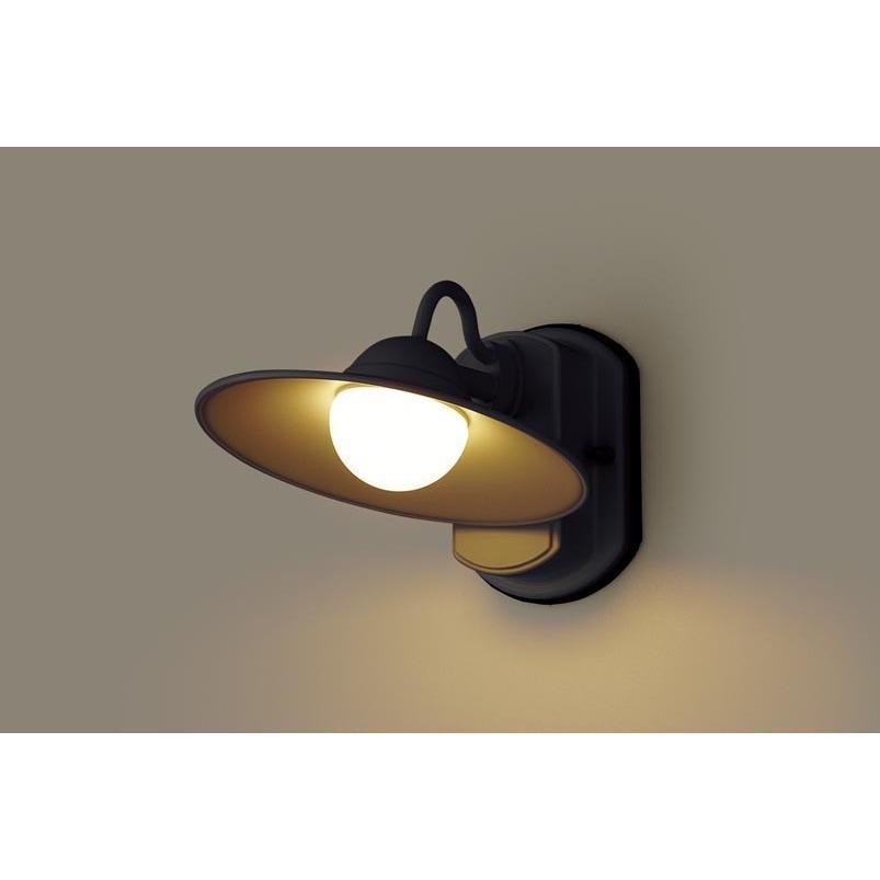 壁直付型 電球色LED ポーチライト 拡散タイプ 拡散タイプ 密閉型 防雨型 40形 パナソニック