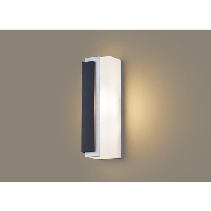 壁直付型 電球色LED ポーチライト 拡散タイプ 防雨型 パネル付型 40形 40形 パナソニック