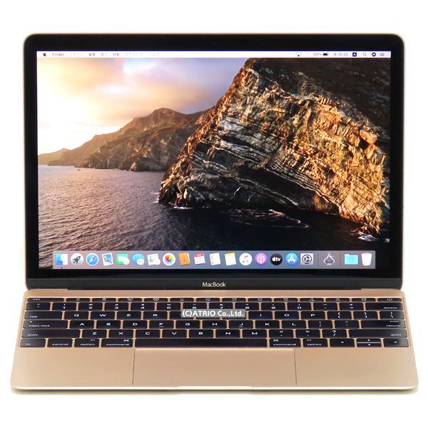 中古パソコン ノートパソコン Apple MacBook Early 2016 Retina ゴールド Core m7 8GB SSD 256GB 12インチ US