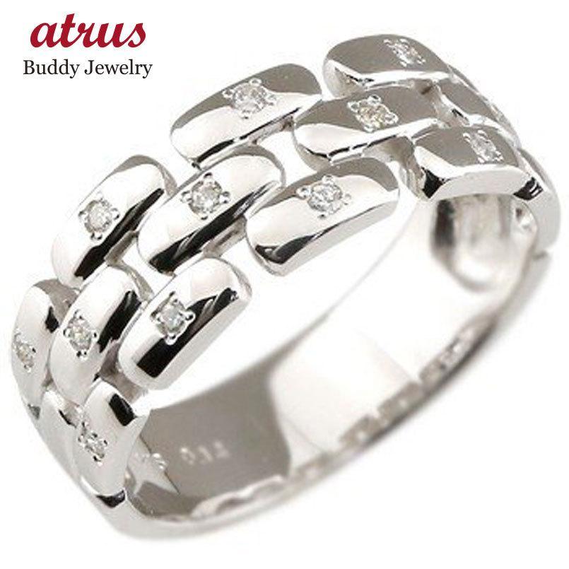 100%品質 メンズリング 人気 ダイヤモンド リングホワイトゴールドK18指輪ダイヤモンド 0.14CT 18金ピンキーリング ダイヤ ストレート 男性用 宝石 送料無料, アンファン 6110b31f
