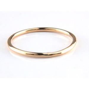 18金 ピンキーリング 指輪 ゴールド 18k ピンクゴールドk18 重ね付け 華奢 ストレート 送料無料|atrus|02