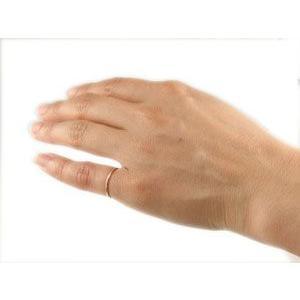 18金 ピンキーリング 指輪 ゴールド 18k ピンクゴールドk18 重ね付け 華奢 ストレート 送料無料|atrus|03