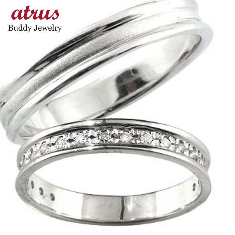 【超新作】 マリッジリング 結婚指輪 ダイヤ ペアリング 結婚指輪 ダイヤモンド ホワイトゴールドK18 結婚式 18金 ダイヤ ストレート ストレート カップル メンズ レディース 送料無料, 杉養蜂園:4e7deb33 --- airmodconsu.dominiotemporario.com