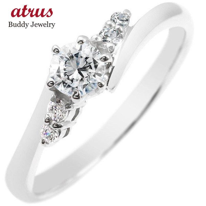 婚約指輪 安い プラチナ リング ダイヤモンド 一粒 pt900 指輪 レディース エンゲージリング ダイヤ 大粒 シンプル 女性 あすつく 送料無料