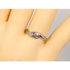 結婚指輪 安い プラチナ ペアリング 2本セット pt900 18金 ピンクサファイア ダイヤモンド マリッジリング 甲丸 ピンクゴールド 18k コンビ 送料無料|atrus|05