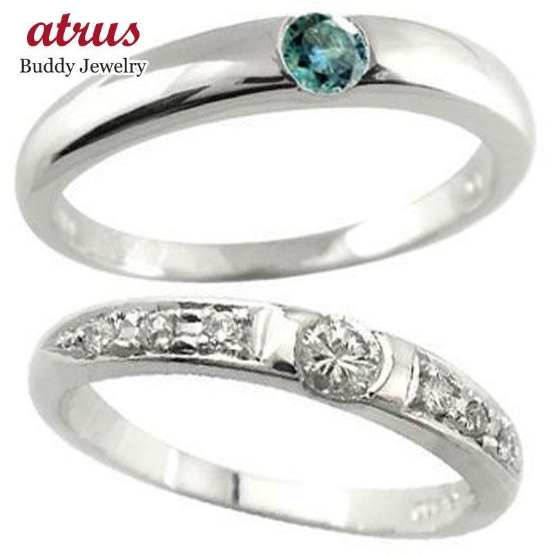 最も  結婚指輪 安い ペアリング プラチナ ダイヤモンド 結婚指輪 ブルー 一粒 結婚式 ダイヤ ストレート カップル プレゼント 女性 送料無料, 毛糸専門店サトー 4ac2fba5