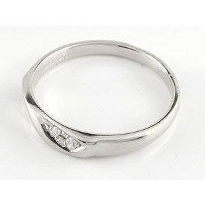 ペアリング 2本セット 結婚指輪 プラチナ 安い ダイヤ pt900 ダイヤモンド ハート ペア 指輪 リング マリッジリング シンプル メンズ レディース 送料無料 atrus 03