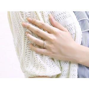 結婚指輪 プラチナ 安い ペアリング 2本セット ハワイアンジュエリー ハート ミル打ち メンズ レディース シンプル 人気 プレゼント 女性 男性 送料無料|atrus|04